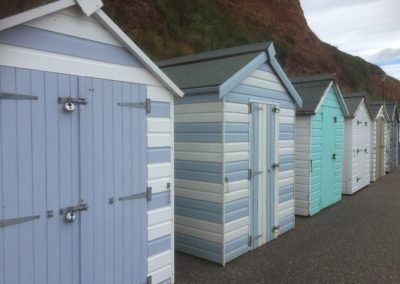 Beach Huts - Seaton