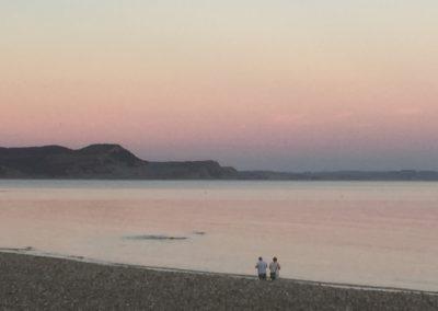 Lyme Sunset