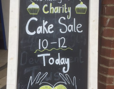 Charity Cake Sale & Coffee