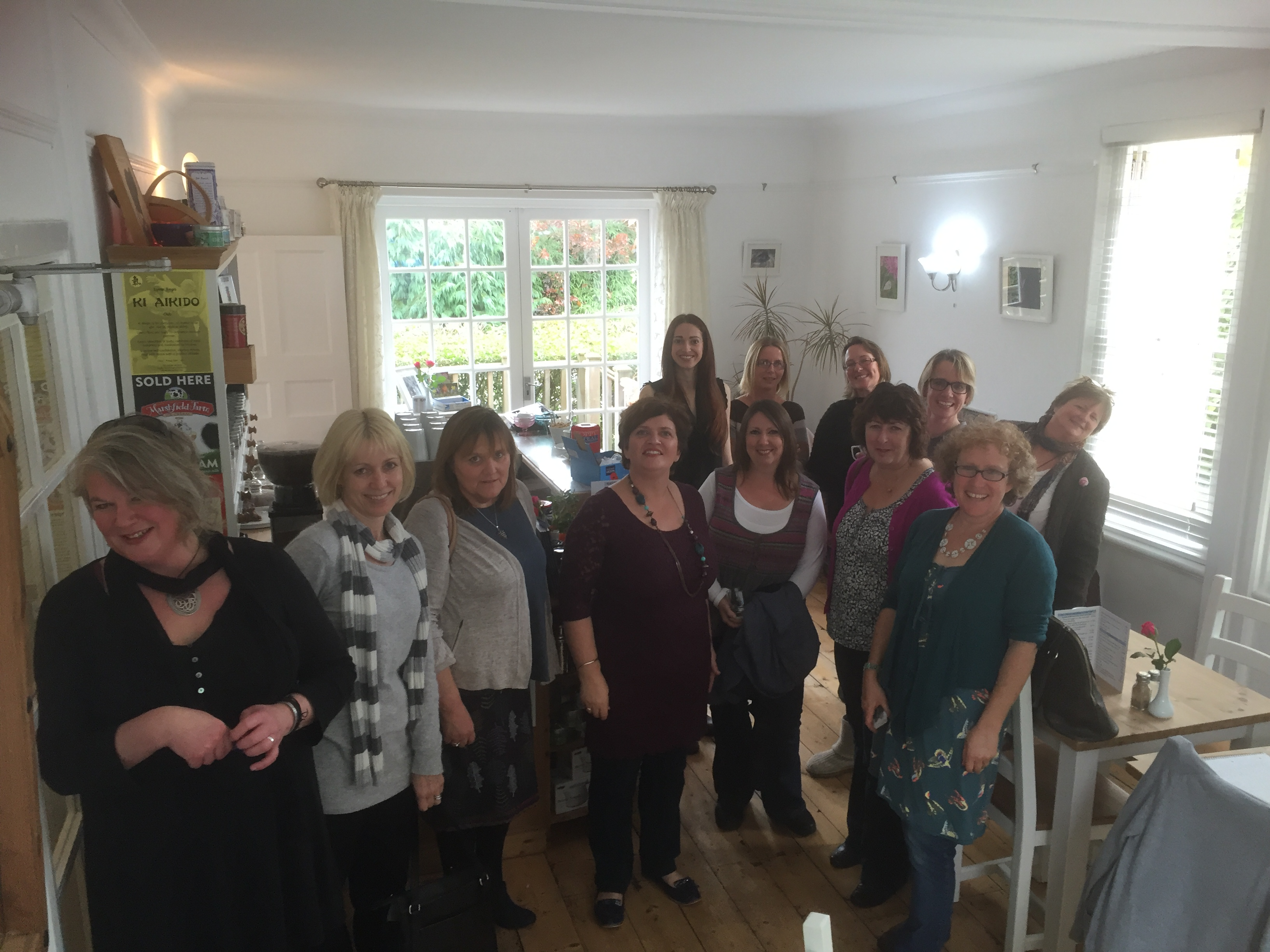 Ladies at 1st Coffee Morning