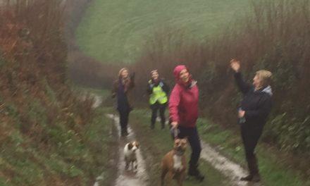 Wet January Walk!