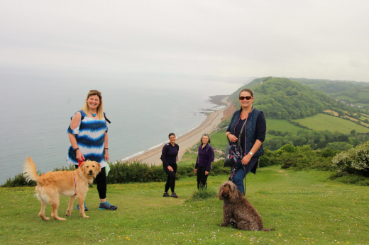 South West Coast Path Beer to Branscombe