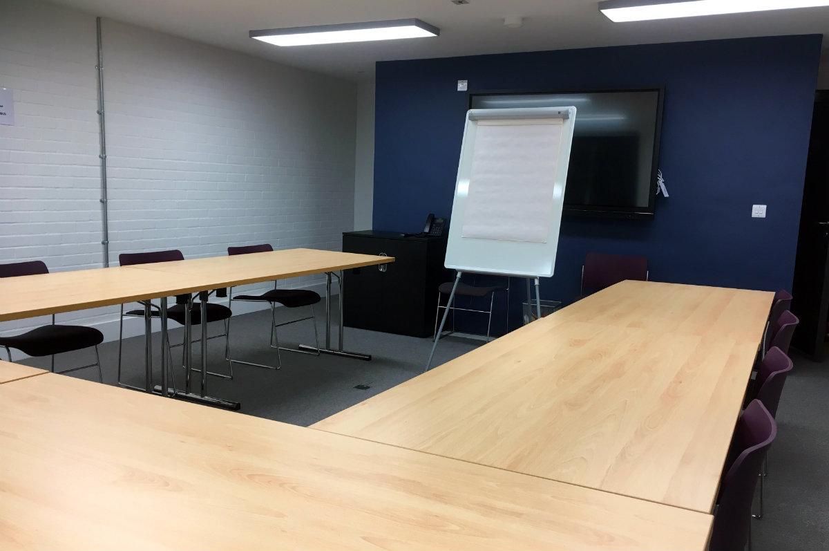 Brisport LSI coffee meeting room
