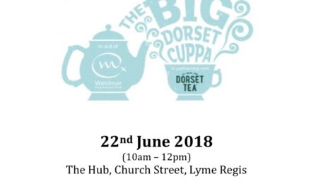 Big Dorset Cuppa for Weldmar Hospicecare
